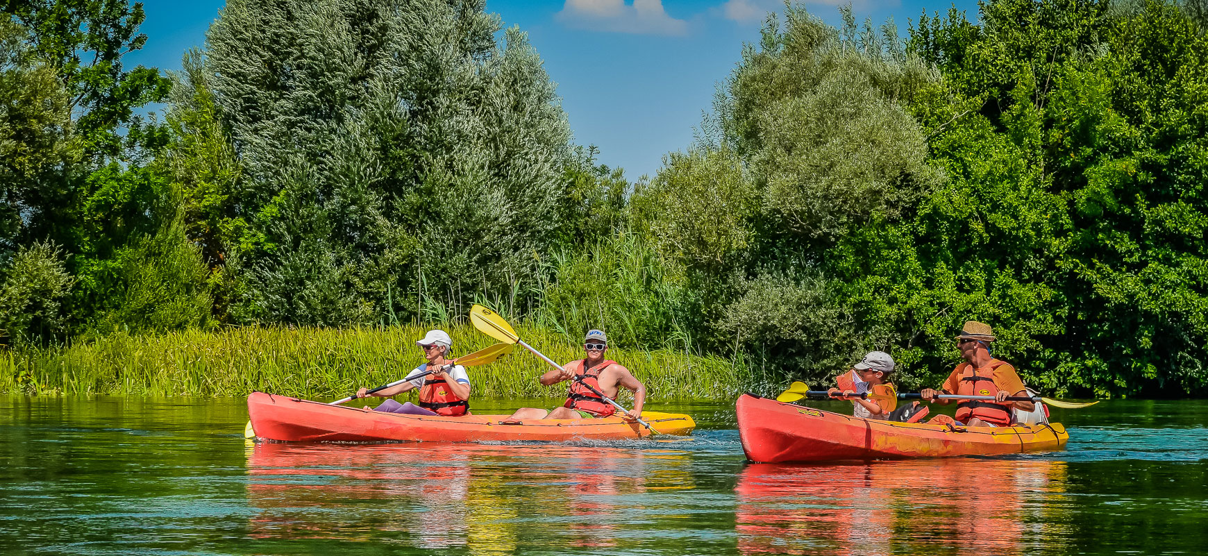 Kayaking Tour on Cetina River – Split Outdoor Adventure