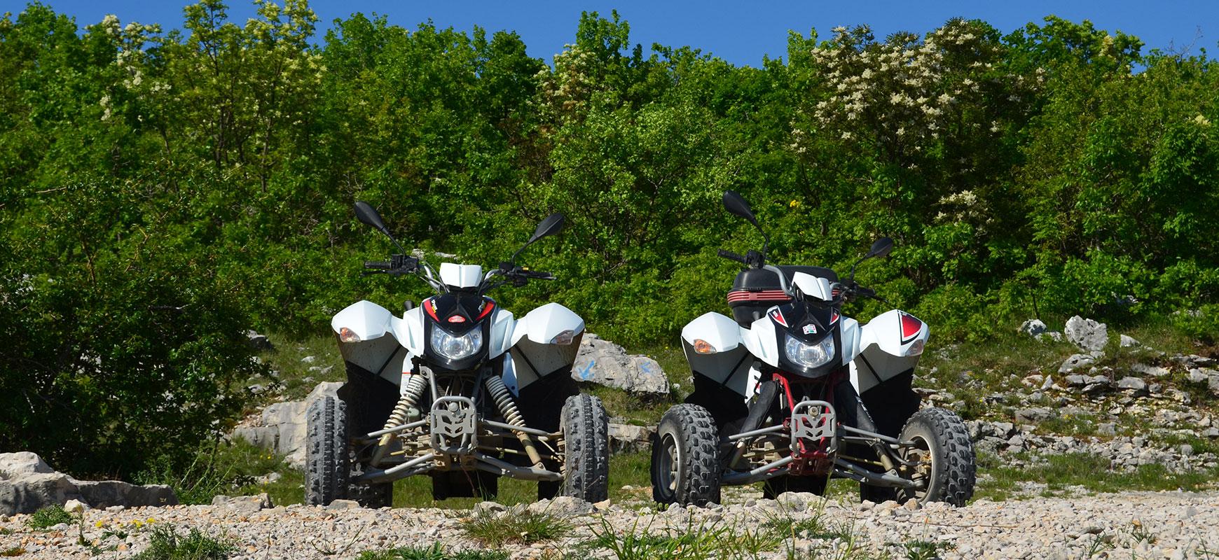 Rent an atv quad in Split, Croatia