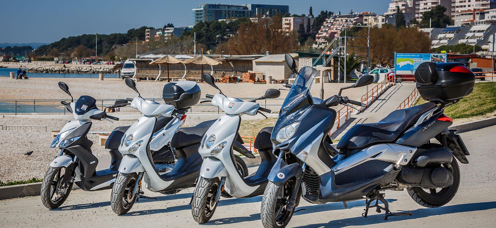 Unajmite skuter u Splitu