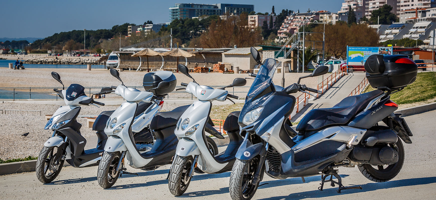 Scooter mieten in Split